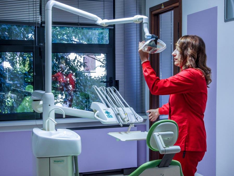Endodonzia dello studio dentistico spaggiari