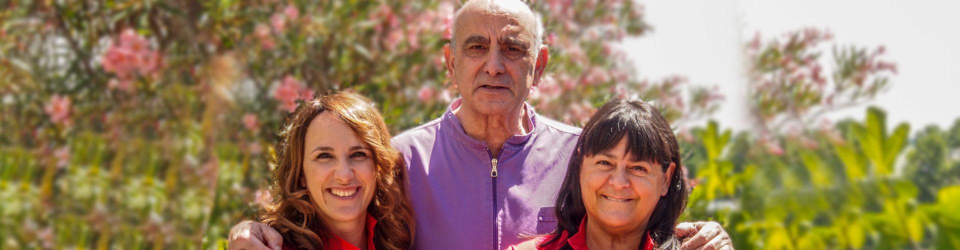 team dello studio dentistico spaggiari